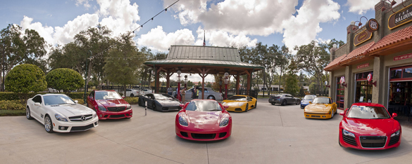 Cars and Café Orlando, FL: New Location Brings Out Some of the Baddest Boys