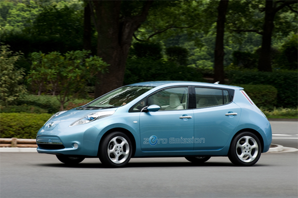 Chevy Volt What? – Nissan Leaf EV Gets 367 MPG