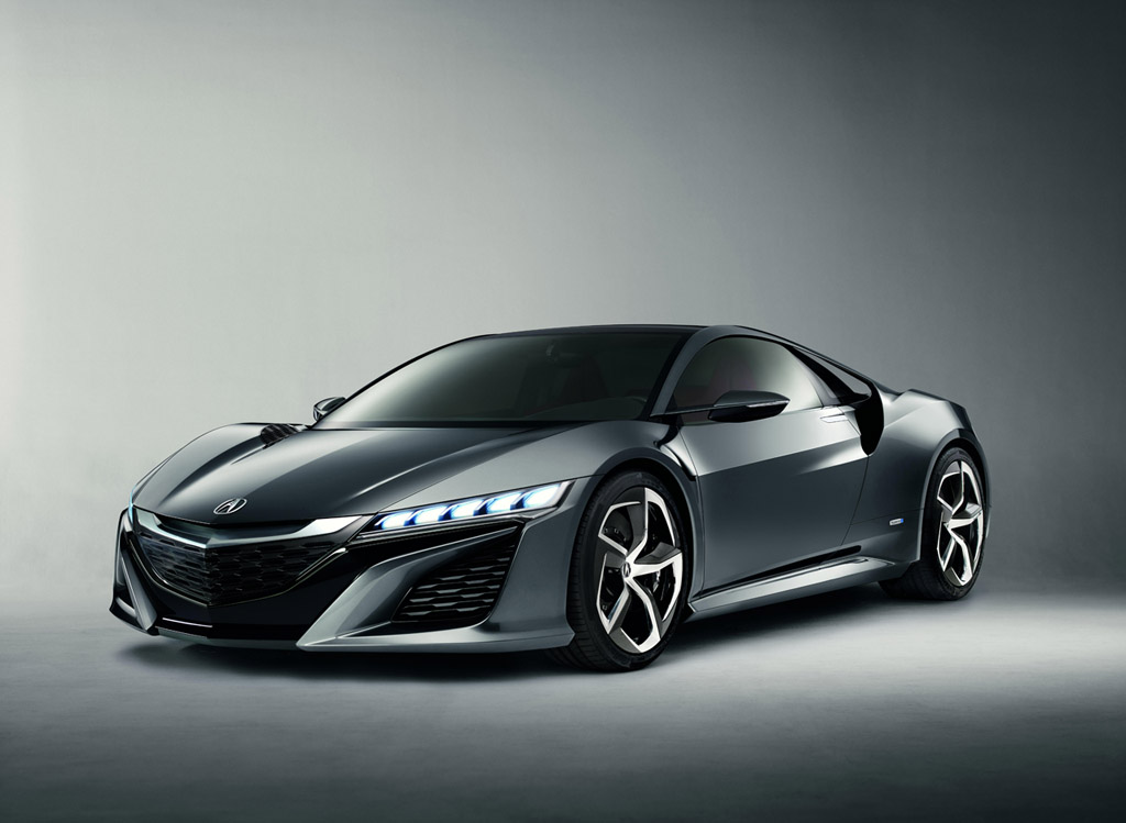 Updated Acura NSX Concept Graces Detroit Adding to Extended Anticipations