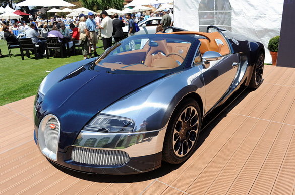 Bugatti Grand Sport Sang Bleu another special Veyron!?!