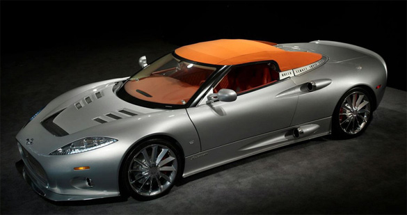 Spyker C8 Aileron Spyder Gone Topless and looking GREAT.
