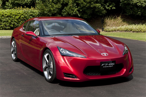 Toyota FT-86 Concept Revealed Before 2009 Tokyo Motor Show