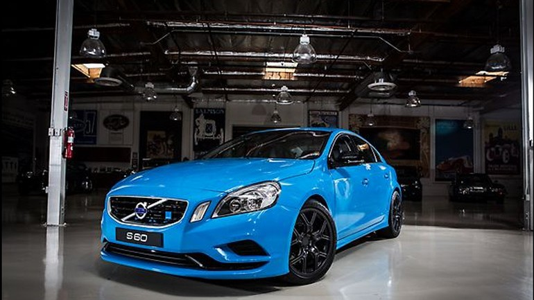 Jay Leno Takes Volvo's 508 Horsepower Polestar S60 Concept for a Spin: Video