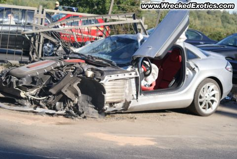 Wrecked Exotic: 2008 Mercedes-Benz McLaren SLR