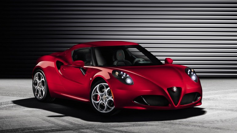 Alfa Romeo Leaks The 4C Ahead Of Geneva Reveal