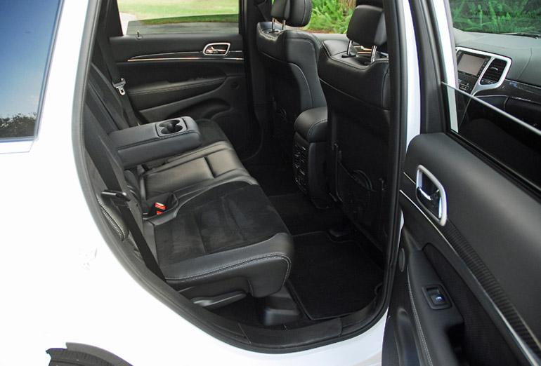 2013 Jeep Grand Cherokee SRT8 Alpine Rear Seats Done Small