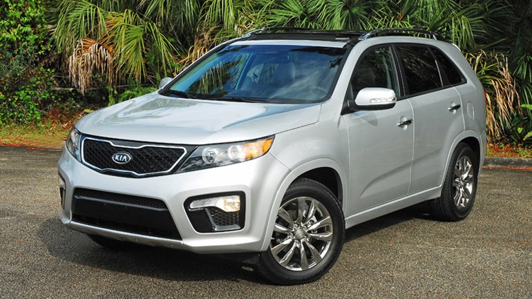 2013 Kia Sorento SX FWD Review & Test Drive
