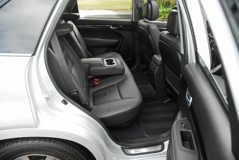 2013 Kia Sorento SX Rear Seats Done Small