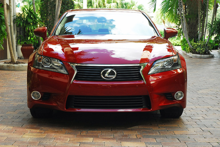 2013 Lexus GS350 Sedan Beauty Headon Done Small
