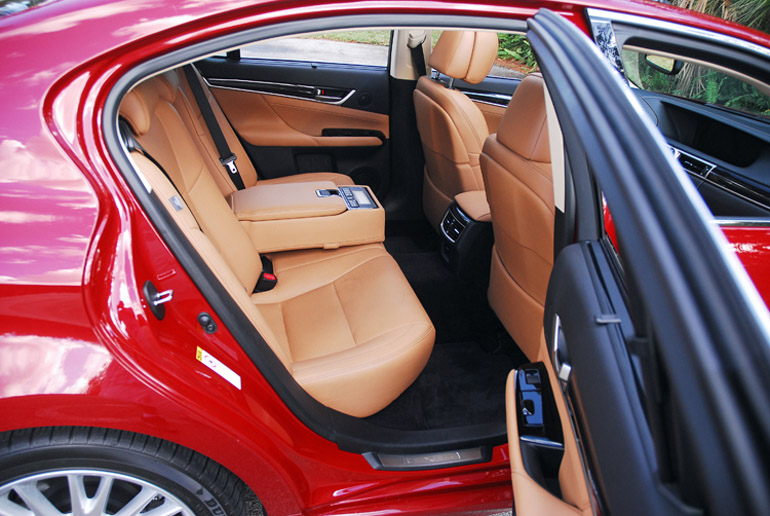 2013 Lexus GS350 Sedan Rear Seats Done Small