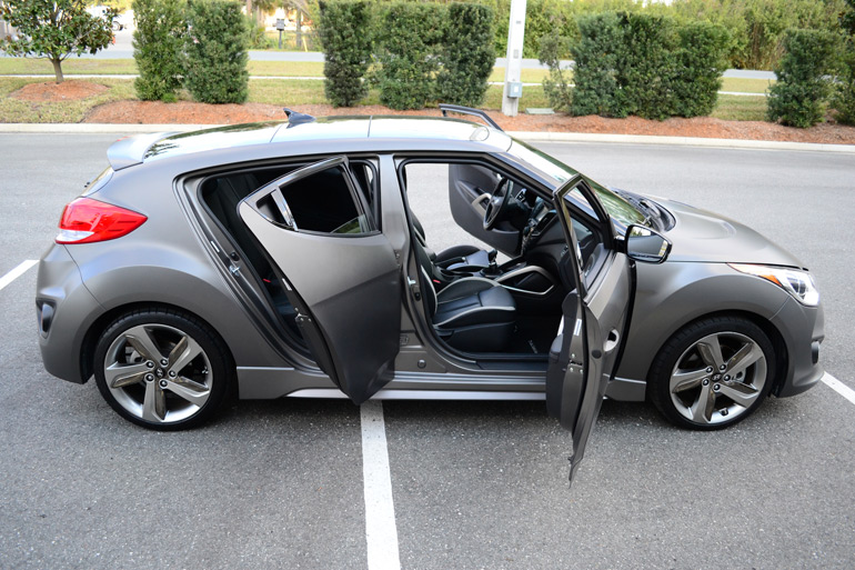 2013 Hyundai Veloster Turbo 6-Sd Manual Review & Test Drive