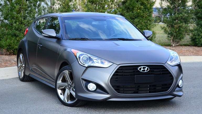 2013 Hyundai Veloster Turbo 6-Speed Manual Review & Test Drive
