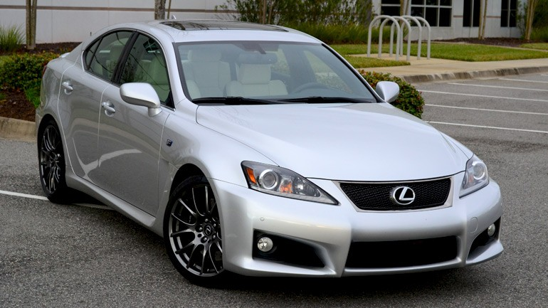 2013 Lexus IS F Review & Test Drive