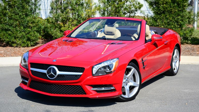 2013 Mercedes-Benz SL550 Roadster Review & Test Drive