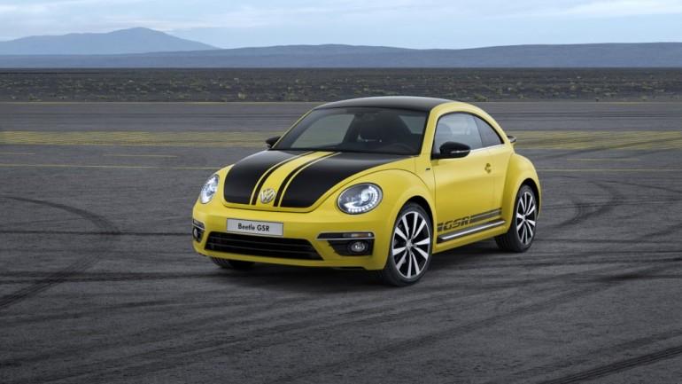 2014 Volkswagen Beetle GSR Is Retro 'Schnell'