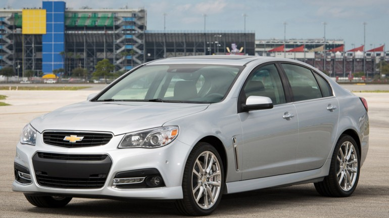 2014 Chevrolet SS Revealed in Daytona w/ 415 HP