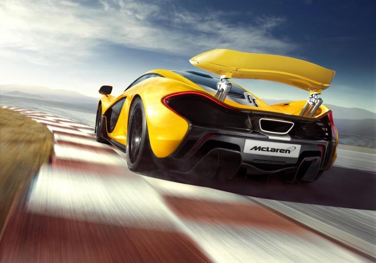 McLaren's P1 plug-in hybrid supercar - image: McLaren