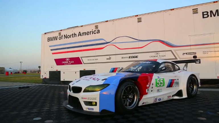 BMW Shows Off Its ALMS-Ready Z4 GTE: Video