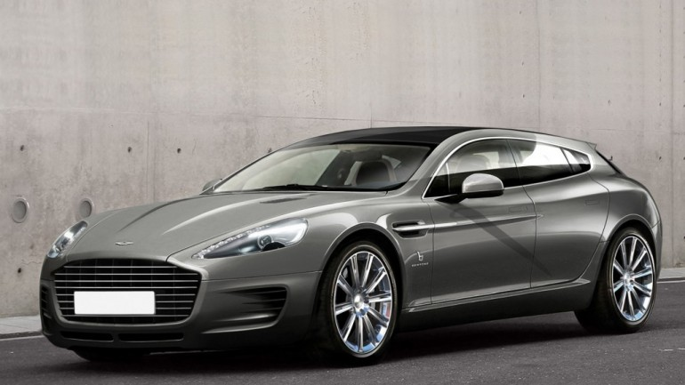 Bertone Shows Its Custom Aston Martin Shooting Brake Ahead Of Geneva Debut