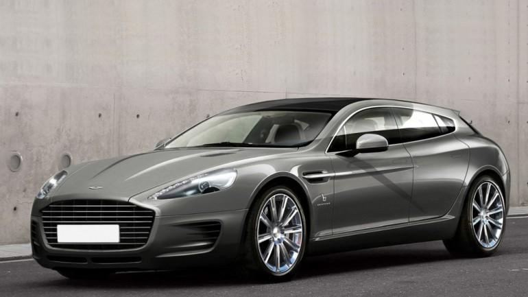 Bertone Shows Its Custom Aston Martin Shooting Brake Ahead Of Geneva Debut