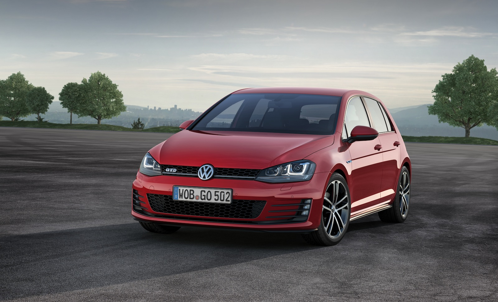 volkswagen to debut new golf gtd in geneva. Black Bedroom Furniture Sets. Home Design Ideas