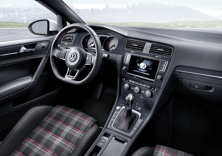 The Mk VII VW GTI, in European trim - image: Volkswagen
