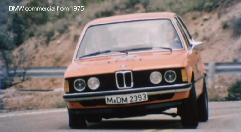 A German BMW 3 Series commercial from 1975