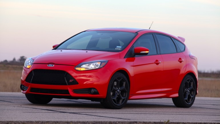 A 300 HP Ford Focus ST Is John Hennessey's Daily Driver: Video