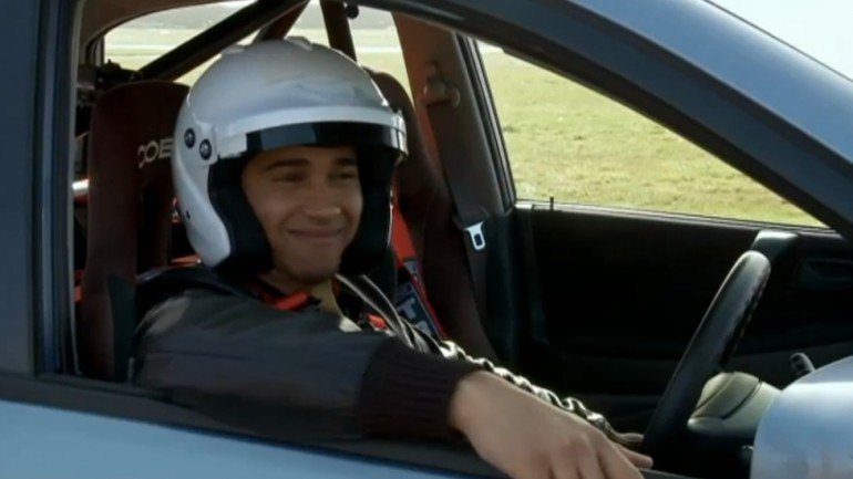 F1 Star Lewis Hamilton Sets New Top Gear Lap Record