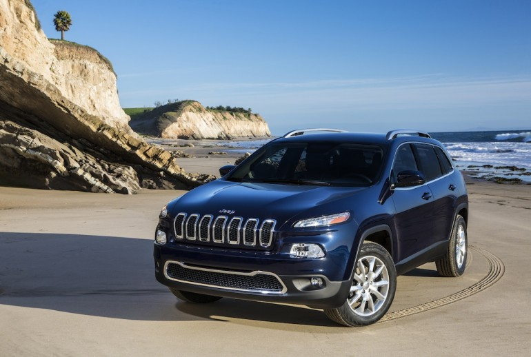 The 2014 Jeep Cherokee - image: Chrysler Group LLC
