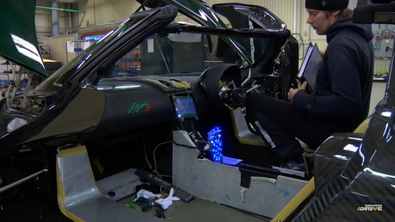 The Brains Behind The Koenigsegg Agera R: Video