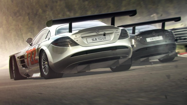 The Mercedes-Benz SLR McLaren 722 GT - image: Codemasters