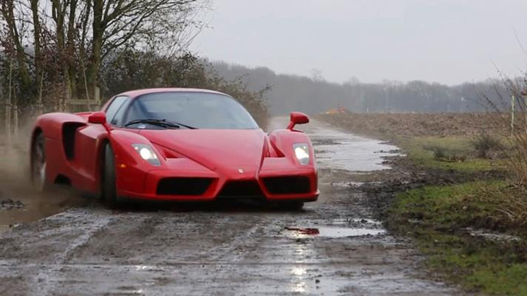 Ferrari Enzo Goes Nuts WRC Style: Video
