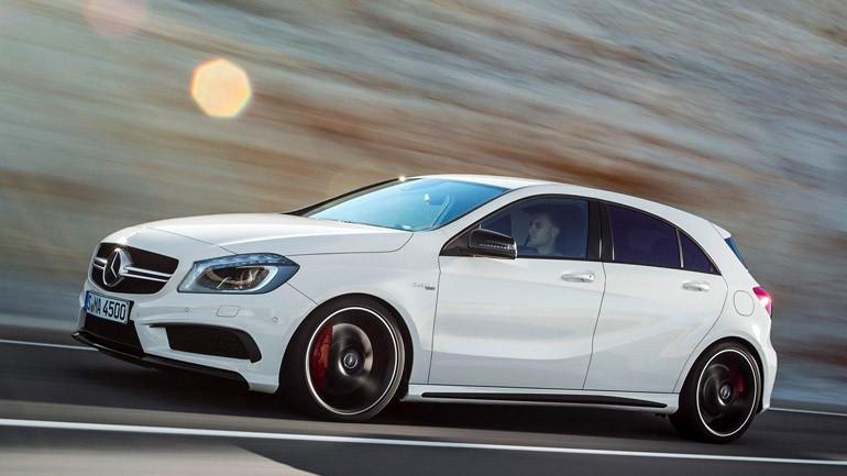 Mercedes-Benz Reveals A45 AMG Before Geneva Debut