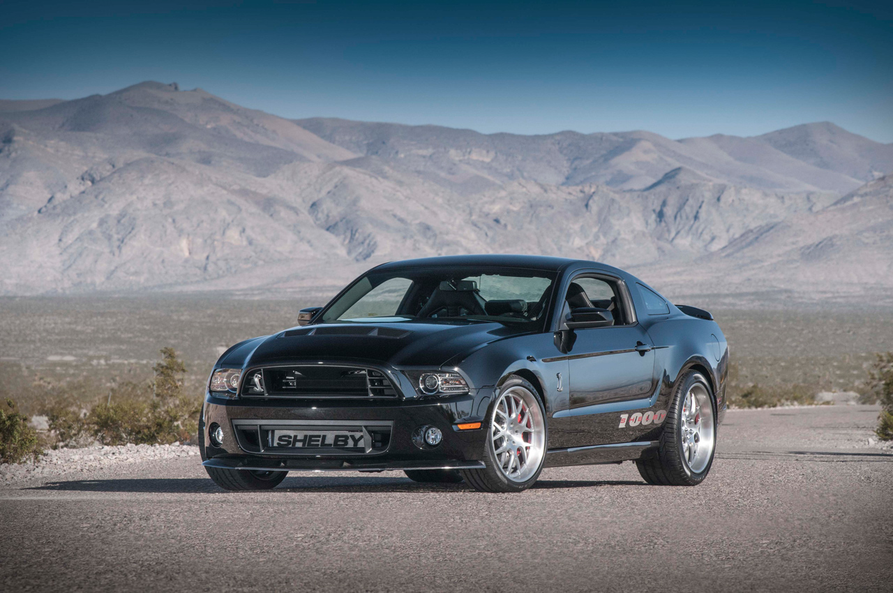 2013 shelby 1000 introduced at ny auto show with 1 200 horsepower. Black Bedroom Furniture Sets. Home Design Ideas