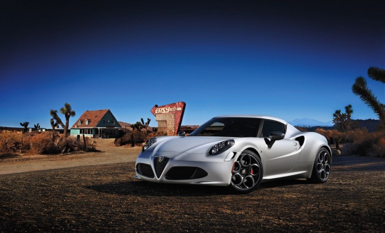 2014 Alfa Romeo 4C - image: Alfa Romeo