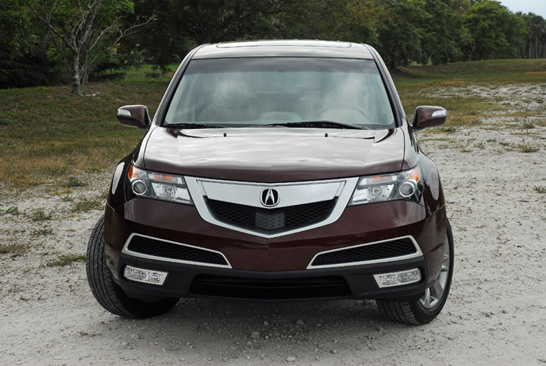 2013 Acura MDX AWD Review & Test Drive