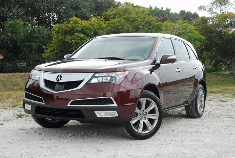 2013 acura mdx awd review test drive. Black Bedroom Furniture Sets. Home Design Ideas