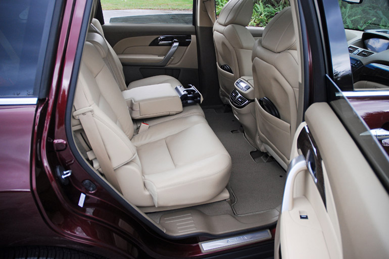 2013 Acura MDX Rear Seats Done Small