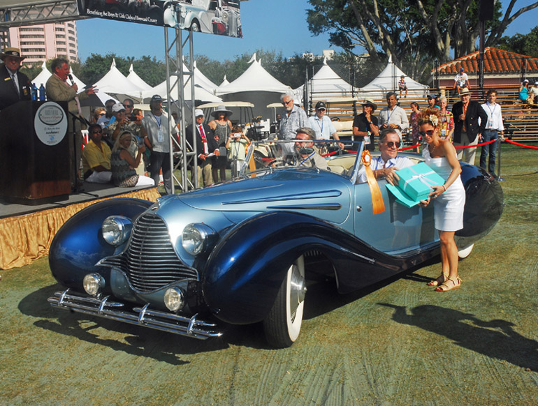 Boca Raton Concours D Elegance Best Of Show Talbot Lago - Boca raton car show