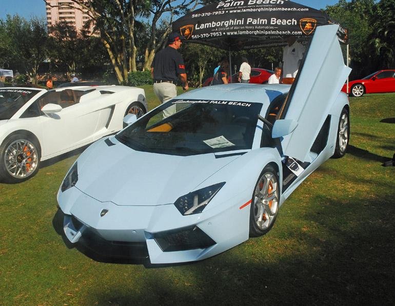 2013 Boca Raton Concours d' Elegance Lamborghini Aventador Done Small