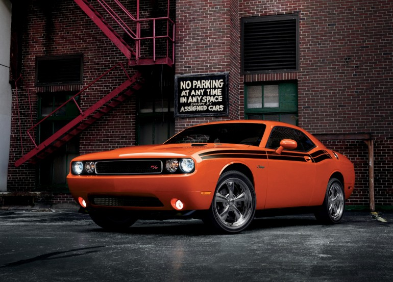 2013 Dodge Challenger (V-8 powered R/T model shown) - image: Chrysler Group LLC