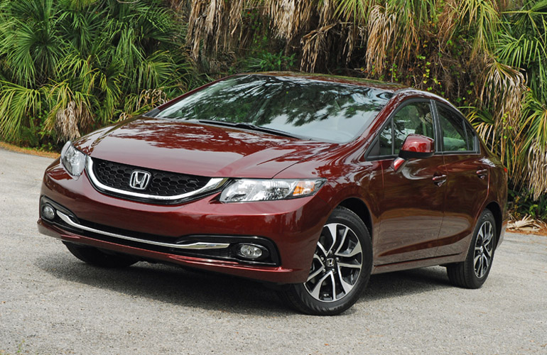 2013 honda civic ex l sedan review test drive. Black Bedroom Furniture Sets. Home Design Ideas