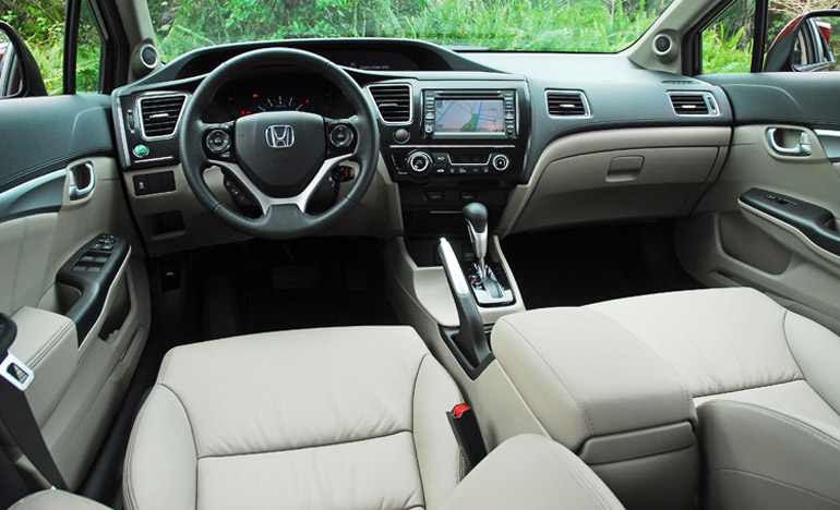 2013 Honda Civic EXL Dashboard Done Small. Posted By Malcolm Hogan Filed  Under