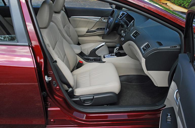 2013 Honda Civic EXL Front Seats Done Small
