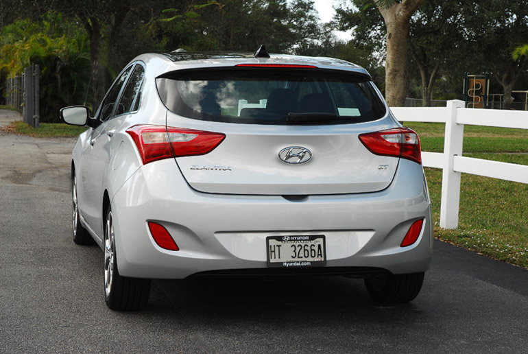 2013 Hyundai Elantra GT Beauty Rear Done Small