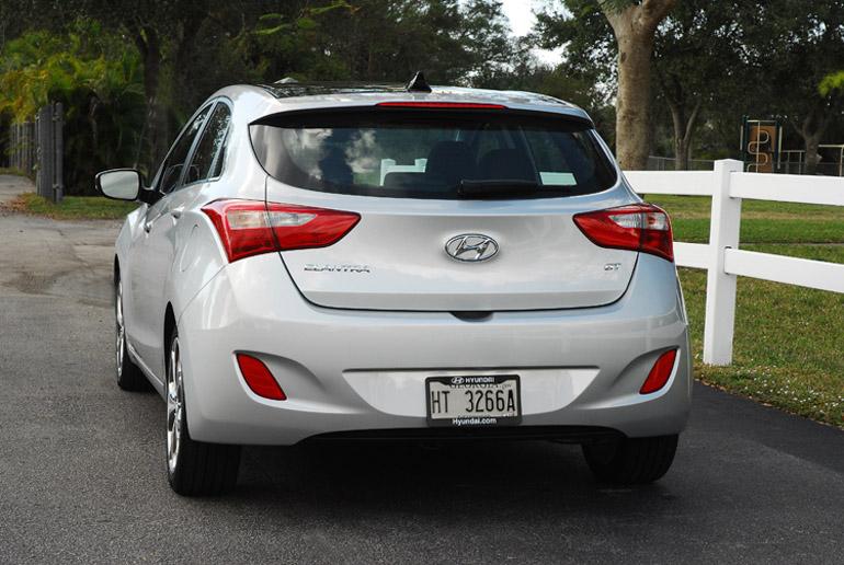 2013 Hyundai Elantra GT Beauty Rear Done Small