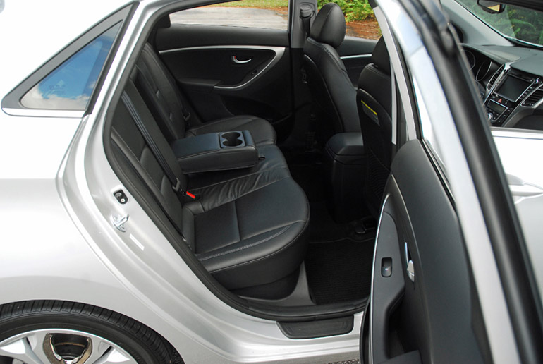 2013 Hyundai Elantra GT Rear Seats Done Small