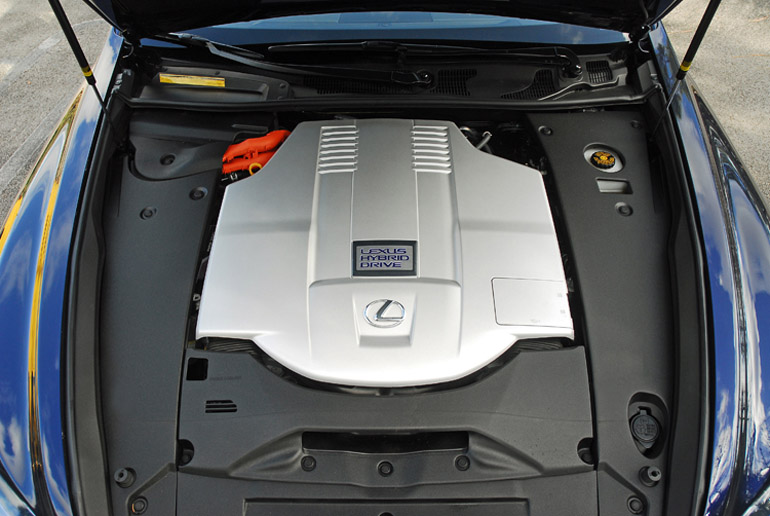2013 Lexus LS600h LWB Engine Done Small