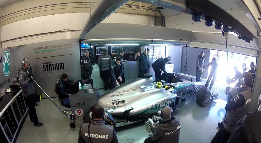 2013 Mercedes F1